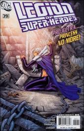 Legion of Super-Heroes (2005) -39- Evil adventus part 3 : downfall