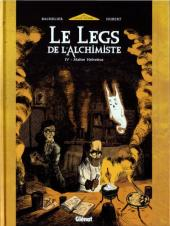 Le legs de l'alchimiste -4- Maître Helvetius
