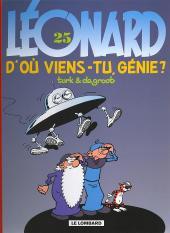 Léonard -25Fan2005- D'où viens-tu, génie ?