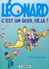Léonard -3d2000- Léonard, c'est un quoi, déjà ?
