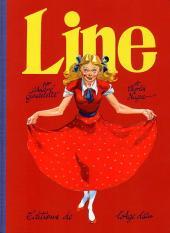 Line (Gaudelette) -1- Line et les timbres volants