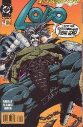 Lobo (1993) -1- Lobo 1 - 1st fraggin' issue