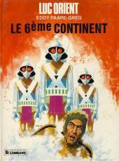 Luc Orient -10c1983- Le 6ème continent