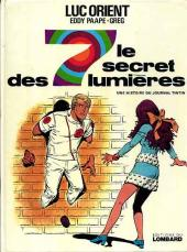 Luc Orient -6'- Le secret des 7 lumières