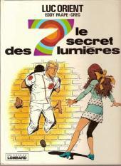 Luc Orient -6b- Le secret des 7 lumières