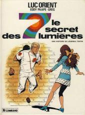 Luc Orient -6c- Le secret des 7 lumières