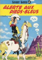 Lucky Luke -10a64- Alerte aux Pieds-Bleus