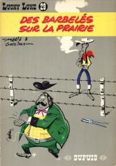 Lucky Luke -29- Des barbelés sur la prairie