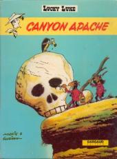 Lucky Luke -37a73- Canyon Apache