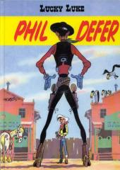 Lucky Luke (Pub et Pastiches) -8Esso- Phil Defer