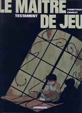 Le maître de jeu -1b2004- Testament