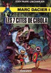 Marc Dacier (couleurs) -9a- Les 7 cités de Cibola
