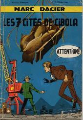 Marc Dacier (1re série) -6- Les 7 cités de Cibola