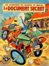Martin le Malin (Album Tricolore) -4- Le document secret