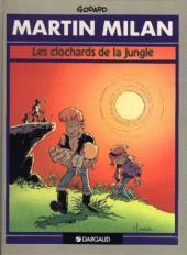 Martin Milan (2e Série) -2a91b- Les clochards de la jungle