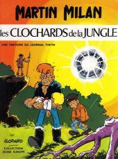 Martin Milan (1re série) -3- Les clochards de la jungle