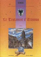 Martin Lohrer (Une aventure de) -4- Le testament d'Erasmus
