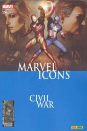 Marvel Icons (Marvel France - 2005) -24- Emeutes