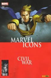 Marvel Icons (Marvel France 1re série) -26- Au loin tonnent les cannons