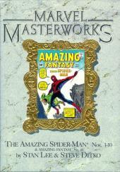 Marvel Masterworks (1987) -1- The amazing Spider-Man n° 1-10 & amazing fantasy n° 15