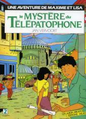 Maxime et Lisa -3- Le mystère du Télépatophone T2