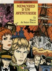 Mémoires d'un aventurier -1- Pierre de Saint-Fiacre