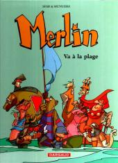 Merlin (Munuera) -3B- Va à la plage