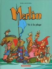 Merlin (Munuera) -3a- Va à la plage
