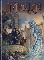 Merlin (Nucléa/Soleil) -1Pub- La Colère d'Ahès