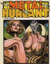 (Recueil) Métal Hurlant -4- Recueil Métal Hurlant du N°13 au N°16