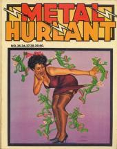 (Recueil) Métal Hurlant -9- Recueil Métal Hurlant du N°35 au N°40