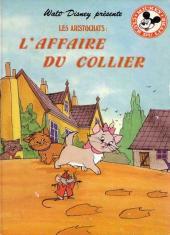 Mickey club du livre -25- Les aristochats - L'affaire du collier