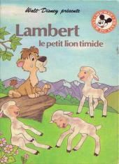 Mickey club du livre -122- Lambert le petit lion timide
