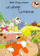 Mickey club du livre -123- Le lièvre et la tortue
