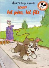 Mickey club du livre -227- Scamp: Tel père, tel fils