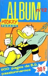 Mickey Parade -3REC12- 3e série - Album n°12 (n°120, 123 et 124)