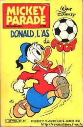 Mickey Parade -29- Donald, l'as du foot