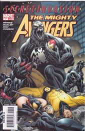 The mighty Avengers (2007) -7- Secret invasion: the infiltration