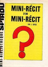 Mini-récit d'un mini-récit - Tome 1MR1303