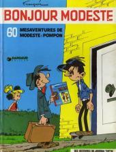 Modeste et Pompon (Franquin) -2a- Bonjour Modeste - 60 mésaventures de Modeste et Pompon
