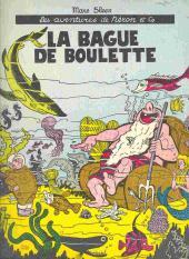 Néron et Cie (Les Aventures de) (Éditions Samedi) -1- La bague de Boulette