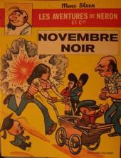 Néron et Cie (Les Aventures de) (Érasme) -32- Novembre Noir