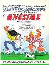 Onésime - Ses plus amusantes aventures publiées dans le bulletin des agriculteurs ces derniers 40 ans