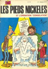 Les pieds Nickelés (3e série) (1946-1988) -74- Les Pieds Nickelés et l'opération congélation