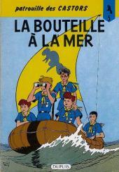 La patrouille des Castors -5c1982- La bouteille à la mer