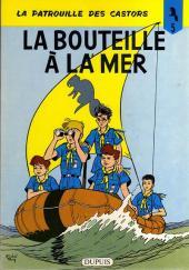 La patrouille des Castors -5a- La bouteille à la mer