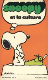 Peanuts -3- (Gallimard) -9- Snoopy et la culture