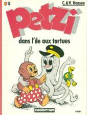 Petzi (Seconde série) -8- Petzi dans l'île aux tortues