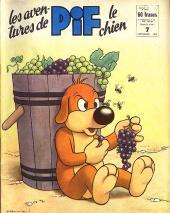 Pif le chien (3e série - Vaillant) -7- 3e série T.7