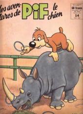 Pif le chien (3e série - Vaillant) -14- 3e série T.14